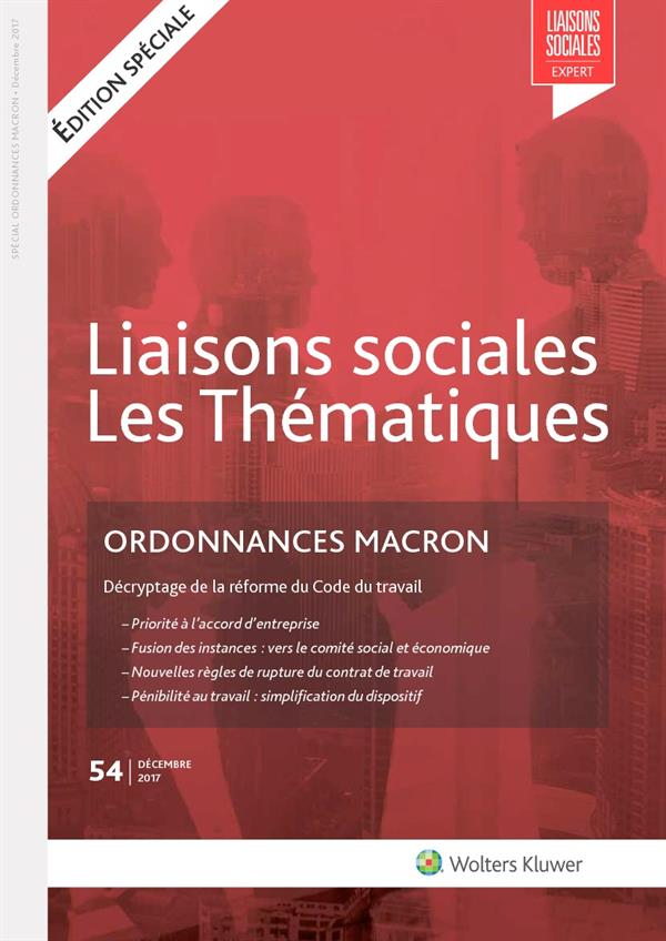 Vignette document Ordonnances Macron. Décryptage de la réforme du Code du travail