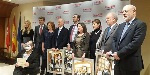 Acijur entrega sus premios 'Puñetas' a la Mutualidad de la Abogacía, Elvira Tejada, Santiago Muñoz Machado y Vicente Magro
