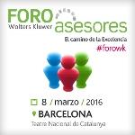El Foro Asesores Wolters Kluwer celebrará su 20 edición el 8 de marzo en Barcelona